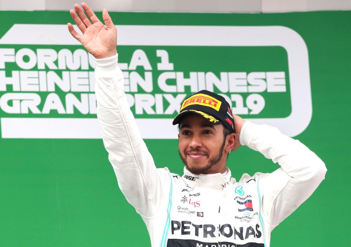 Lewis Hamilton. (Xinhua/Ding Ting/IANS)