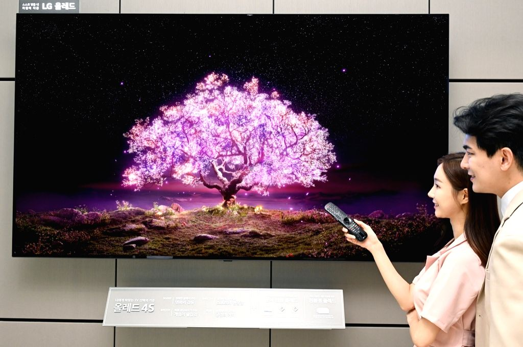 LG Electronics launches first ever 83-inch OLED TV.
