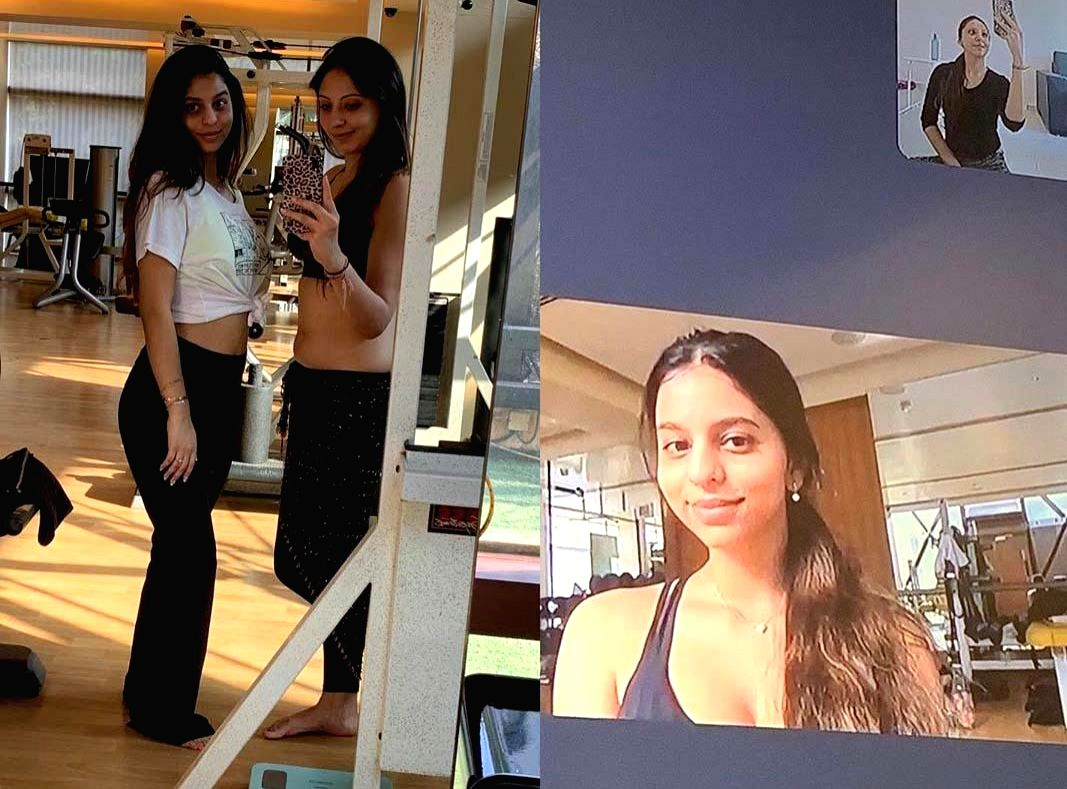 Lockdown diaries: Suhana Khan takes online belly dance lessons.
