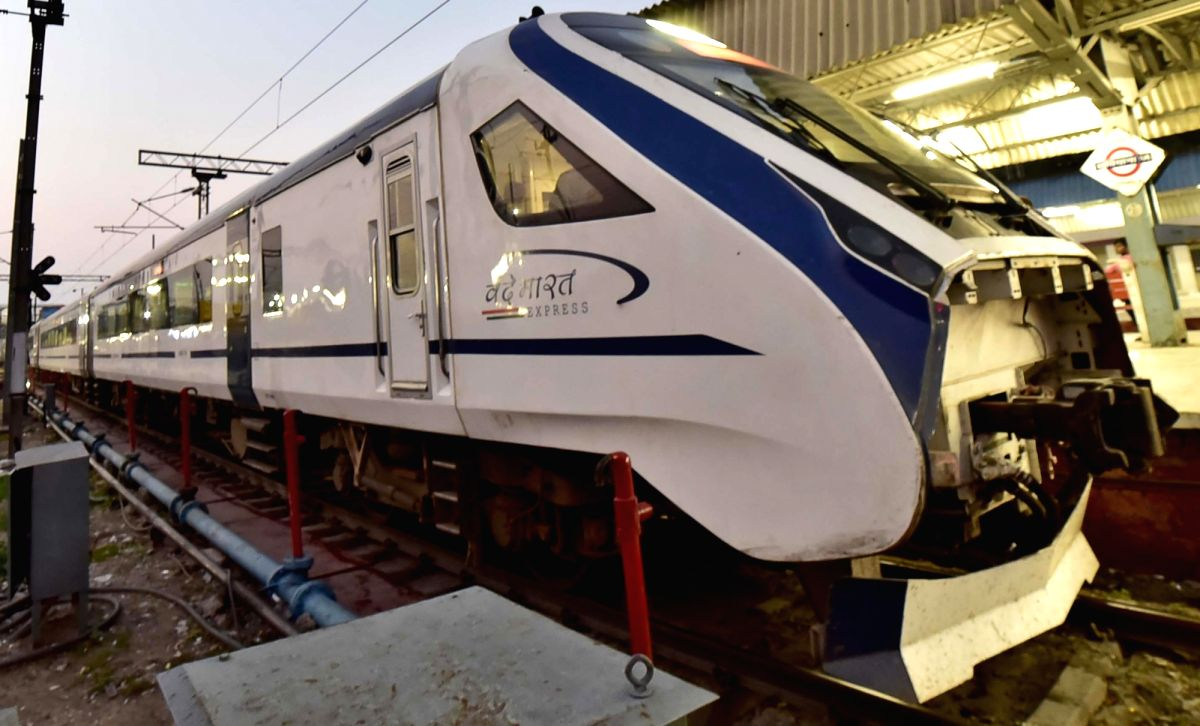 Ludhiana: The trial run of the second Vande Bharat Express, also known as 'Train 18', start from New Delhi junction and will reach Katra on the same day arrives at Ludhiana station on July 22, 2019. The train will travel via Ambala, Ludhiana and Jamm