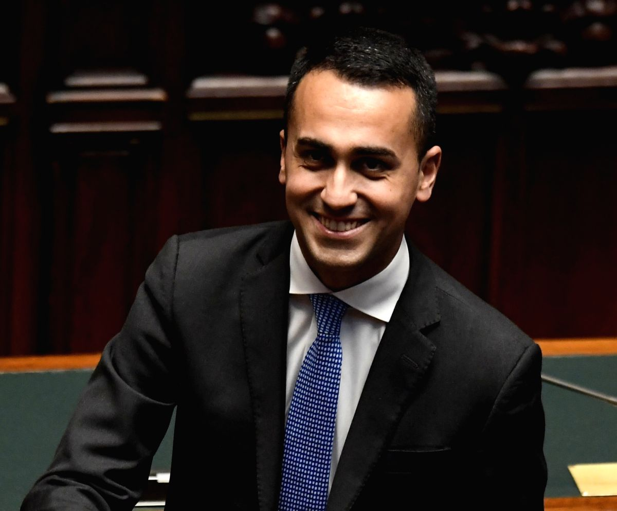 Luigi Di Maio. (File Photo: IANS)