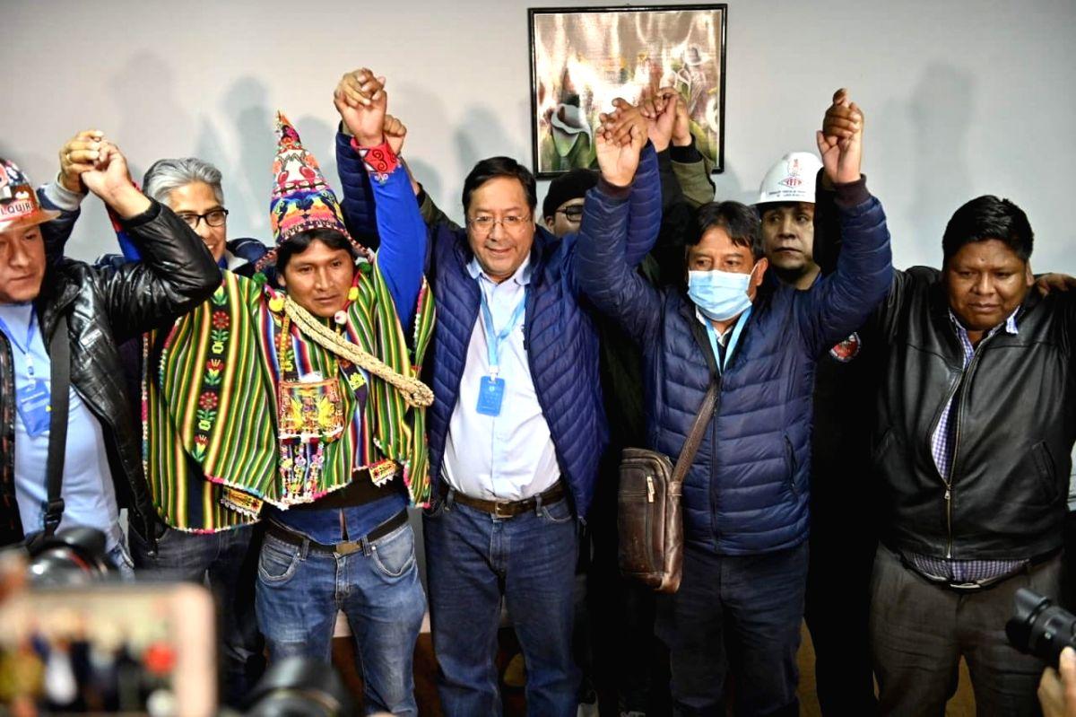 Luis Arce declared Bolivia's President-elect.