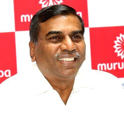 M.M. Murugappan.