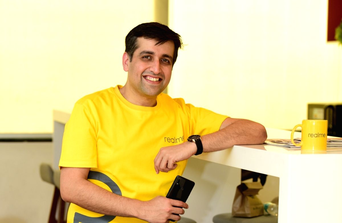 Madhav Sheth, Vice President, Realme and Chief Executive Officer, Realme India and Europe.