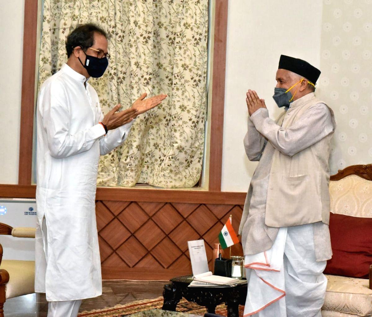 Maha: New 'letter-war' flares up between Koshyari-Thackeray (Ld)