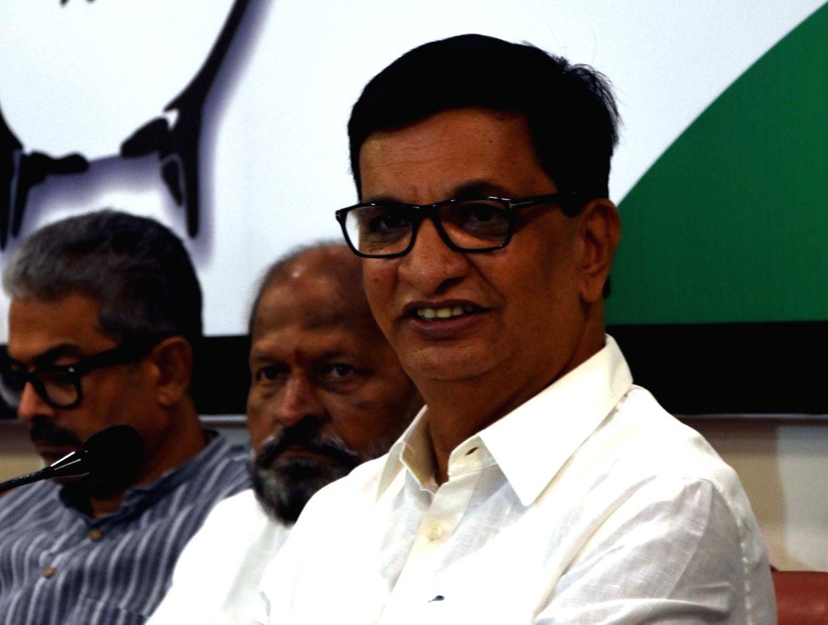 State Congress President and Revenue Minister Balasaheb Thorat