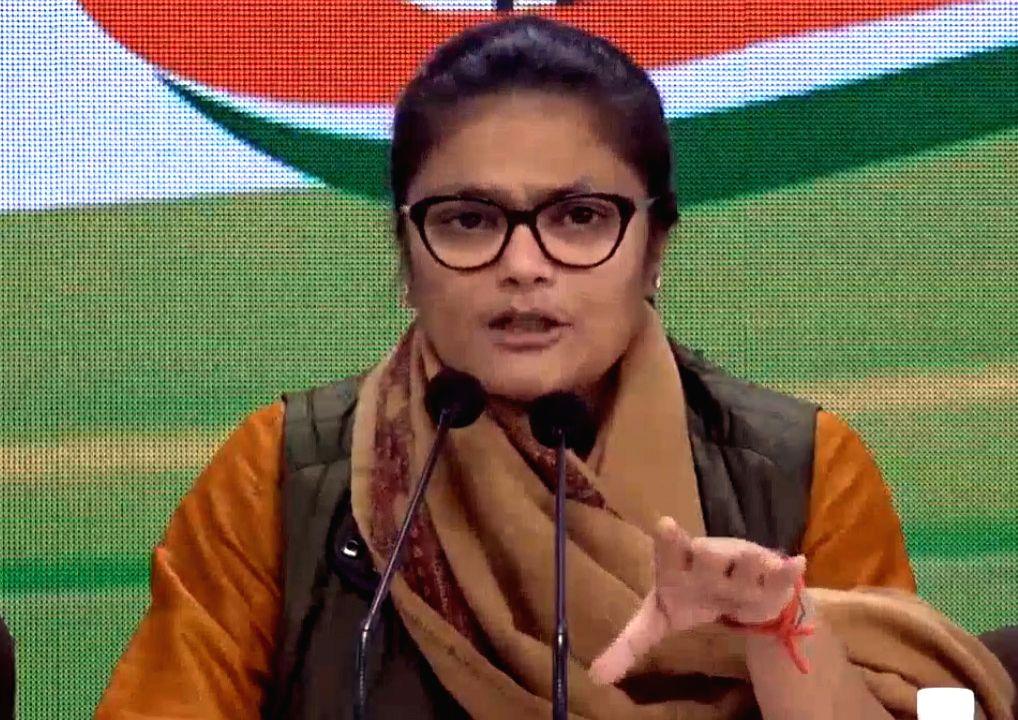 Mahila Congress President Sushmita Dev