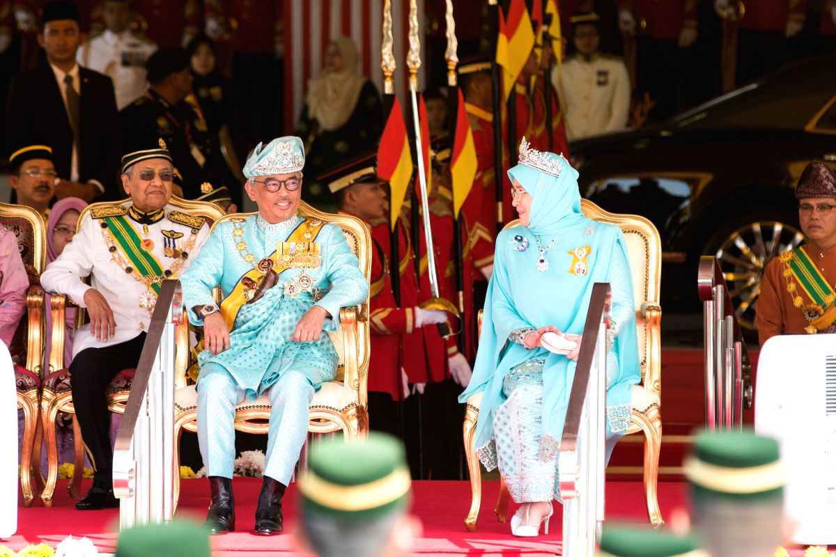Malay King, Queen under quarantine after staff test COVID-19 positive