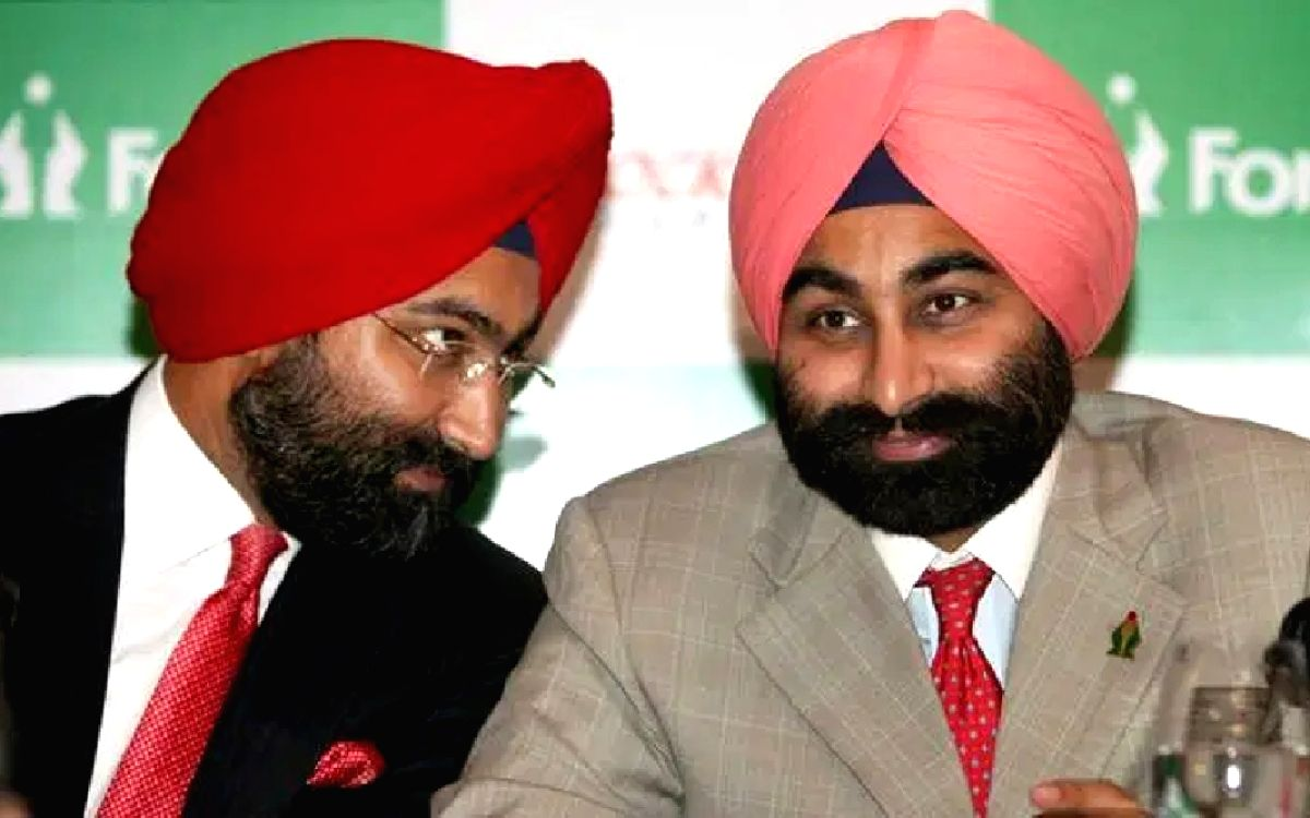 Malvinder Mohan Singh and Shivinder Mohan Singh