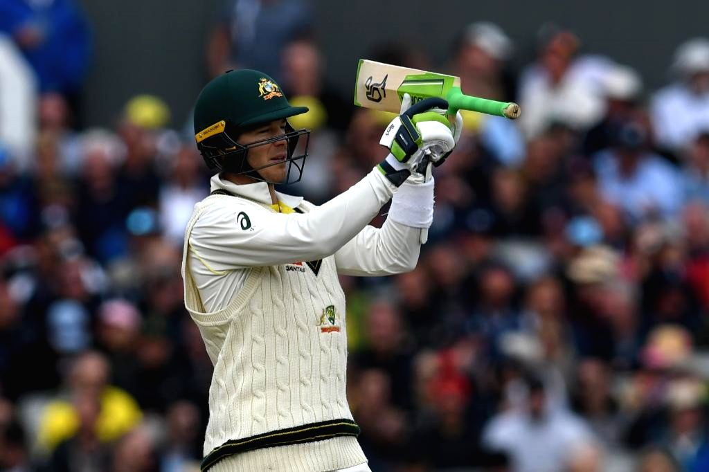 Manchester: Australia's Tim Paine in action on Day 2 of the 4th Test match between Australia and England at Old Trafford, in Manchester on Sep 5, 2019. (Photo: Twitter/@ICC)