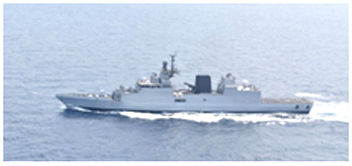 Manila: As part of Indian Navy's Overseas Deployment to South East Asia and Western Pacific, Indian Navy ships Sahyadri and Kiltan make a port call at Manila, Philippines on Oct 23, 2019 (till Oct 26, 2019). The ships are a part of the Indian Navy's