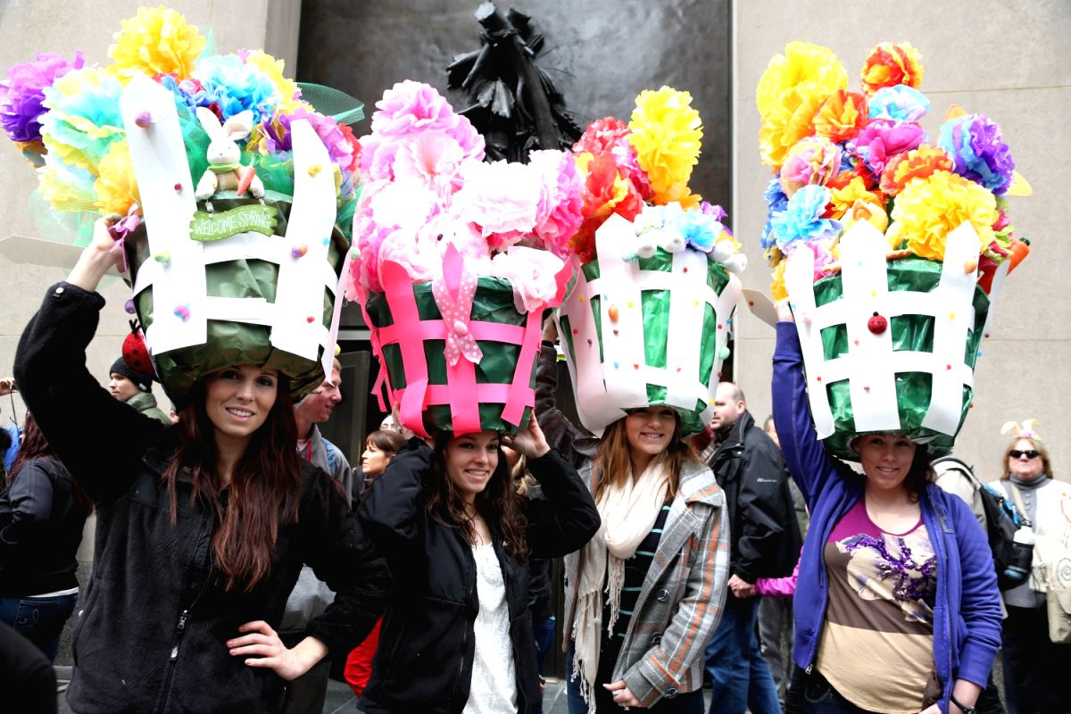 Why do people take part in Easter Parades?