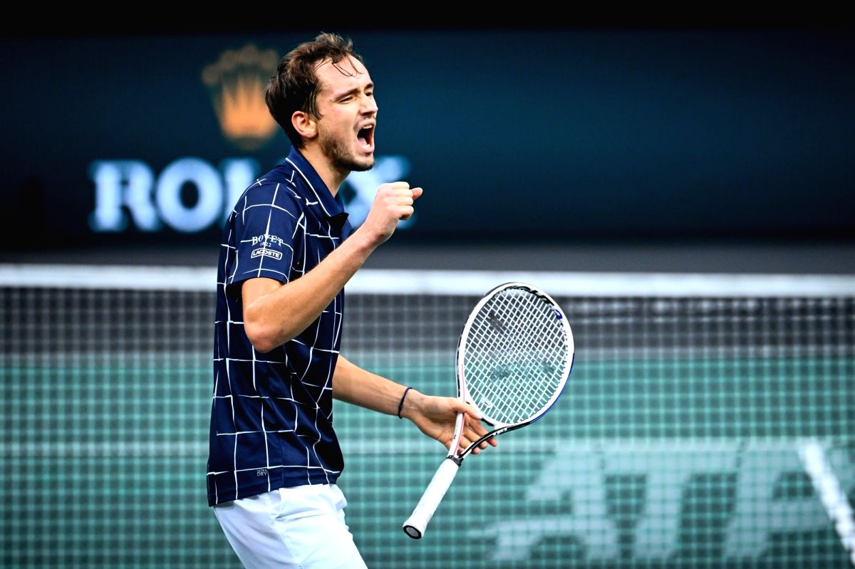 Medvedev pushes Nadal to No. 3 in ATP rankings