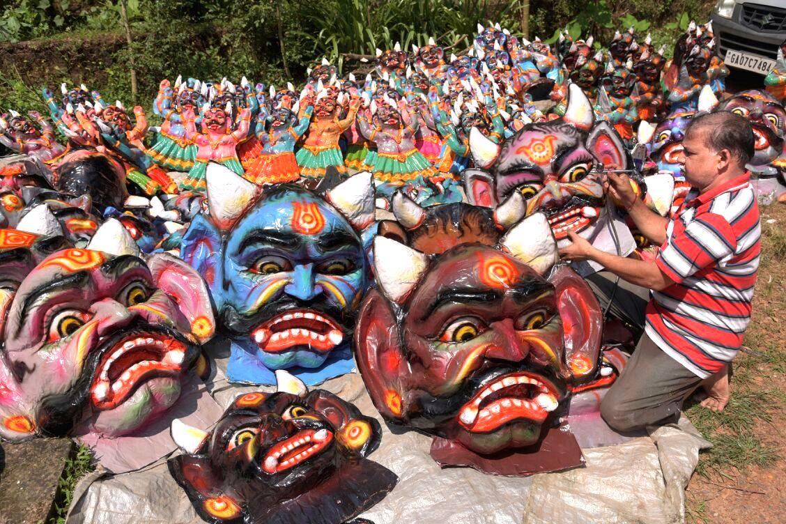 Panaji bans large effigies of demon Narakasura during Diwali