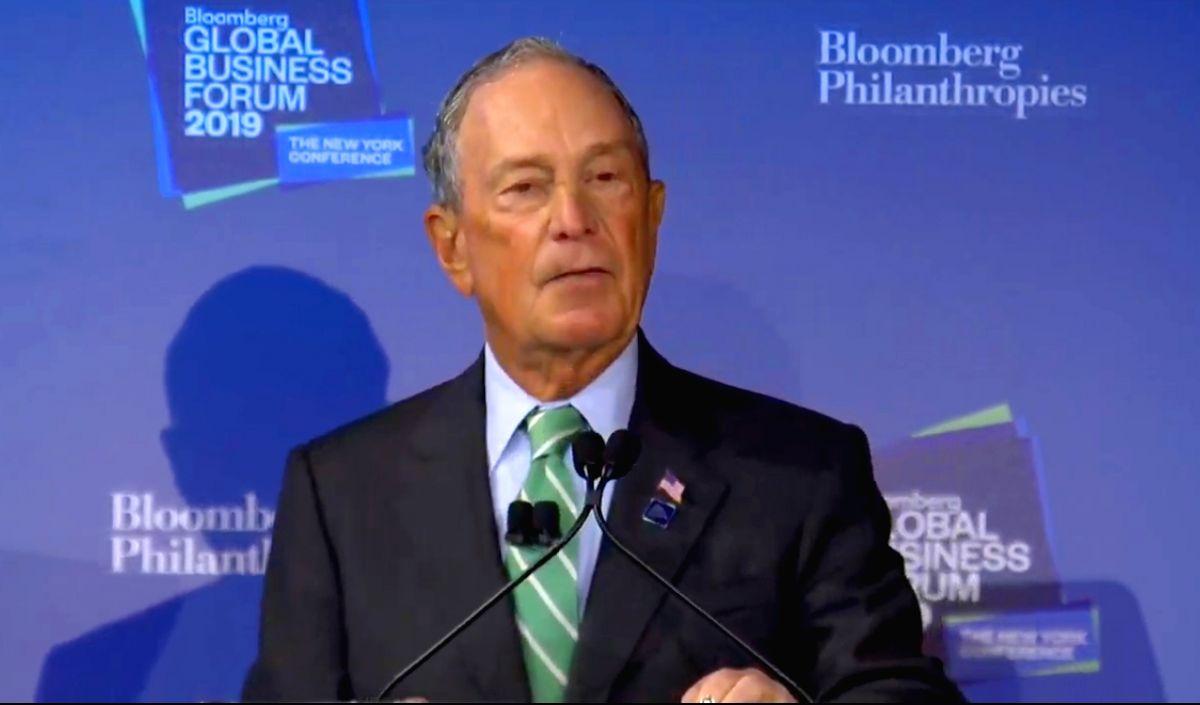 Michael R Bloomberg.