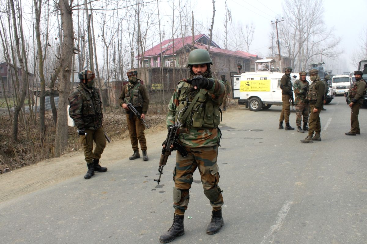 Militant killed in Jammu and Kashmir gunfight.