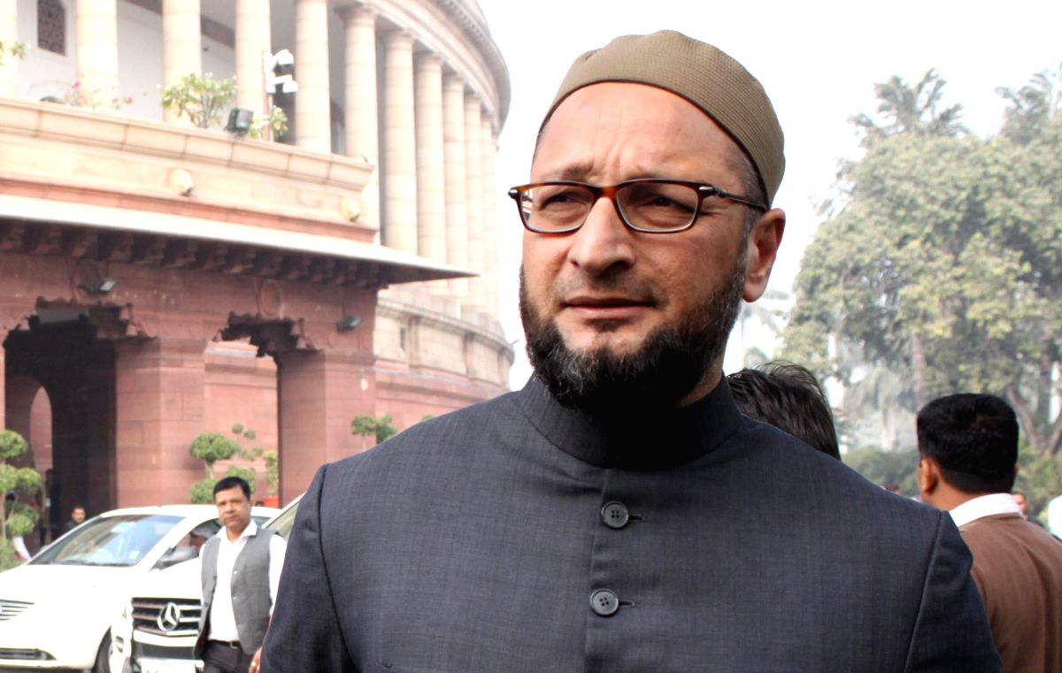 MIM chief Asaduddin Owaisi. (File Photo: IANS)
