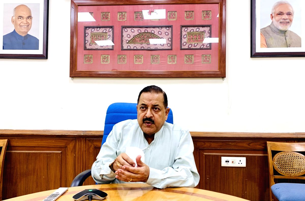 Minister lauds BARC, DAE role in fight against pandemic. (Photo: IANS/PIB)