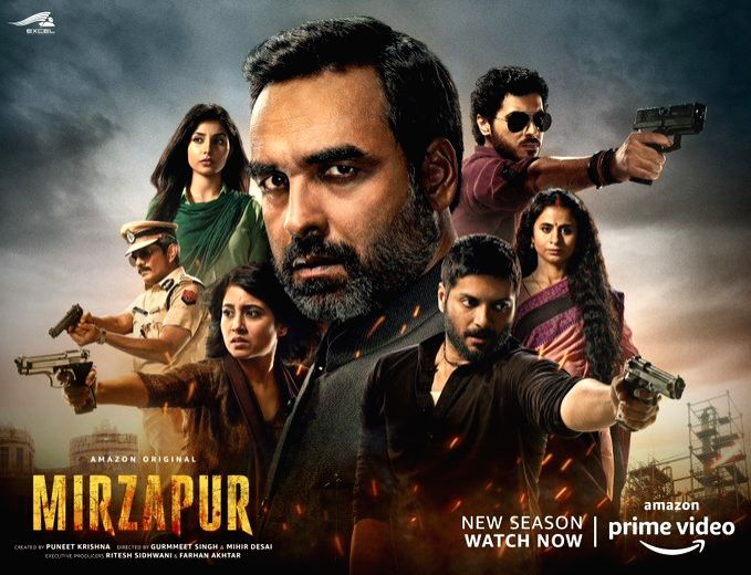 Mirzapur 2 makers issue apology to author Surender Mohan Pathak for hurting sentiments. (Photo: Twitter@excelmovies)