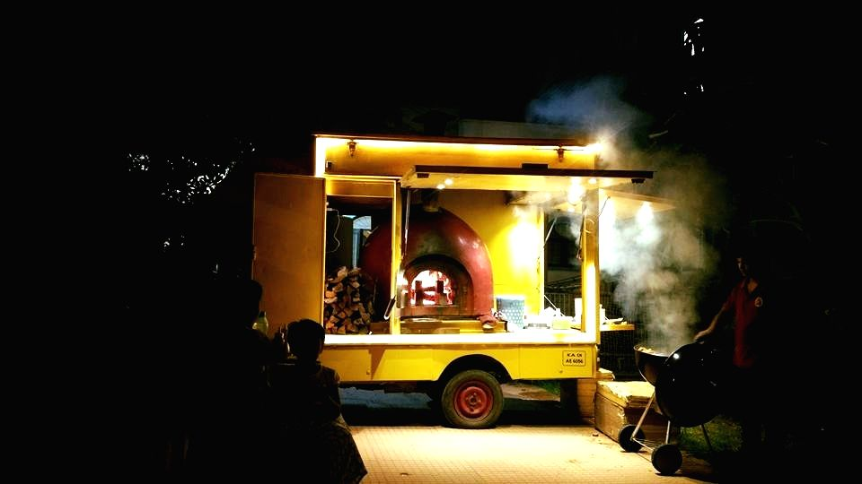 Mobile catering the new norm in Bengaluru.