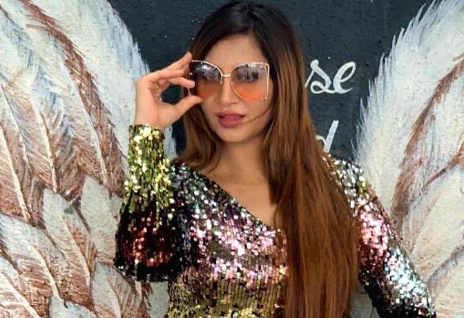 Model and Actress Arshi Khan.