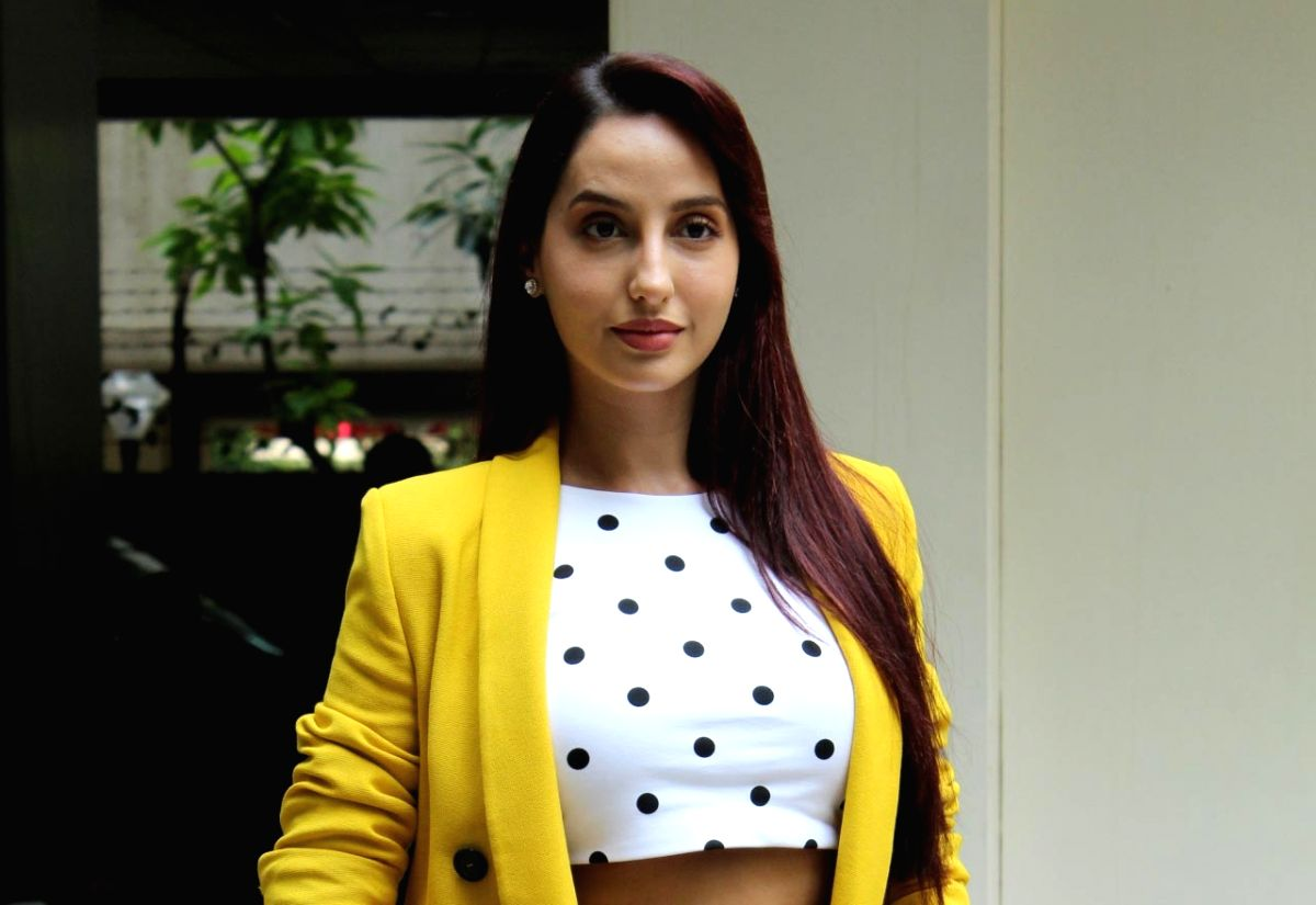 Model turned actress Nora Fatehi. (Image Source: IANS)