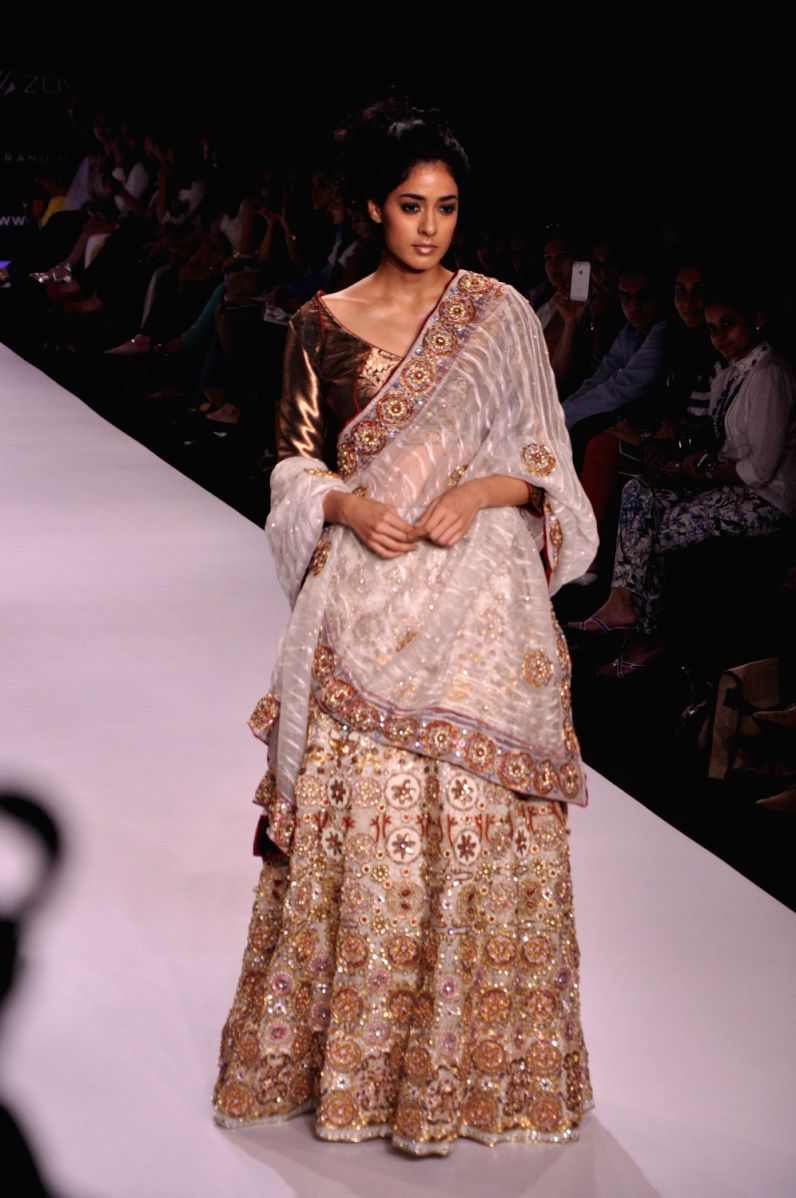 #8 The Traditional Half Saree Style can be in your bucket list too!
