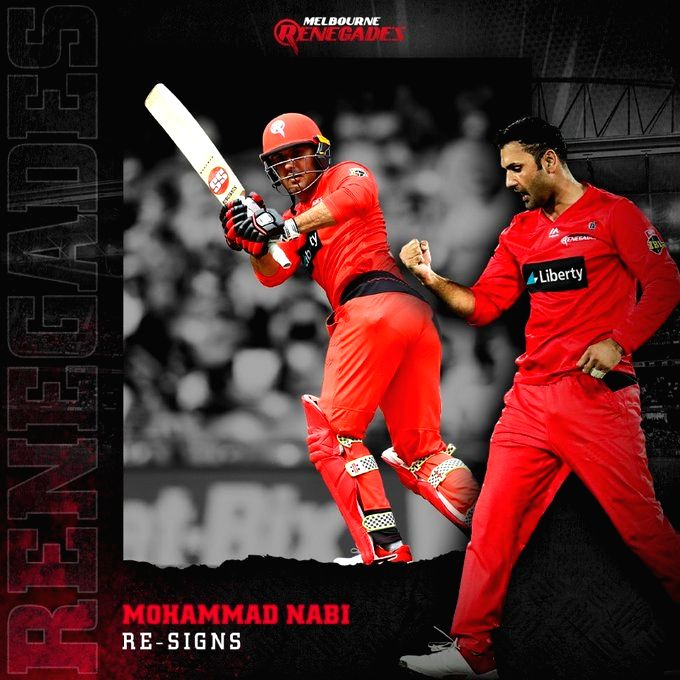 Mohammad Nabi returns to Melbourne Renegades for BBL 10.