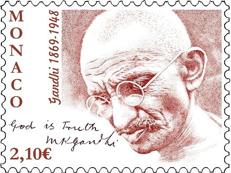 Monaco on Monday has announced to release postage stamps on 150th birth annivarsary of Mahatma Gandhi.