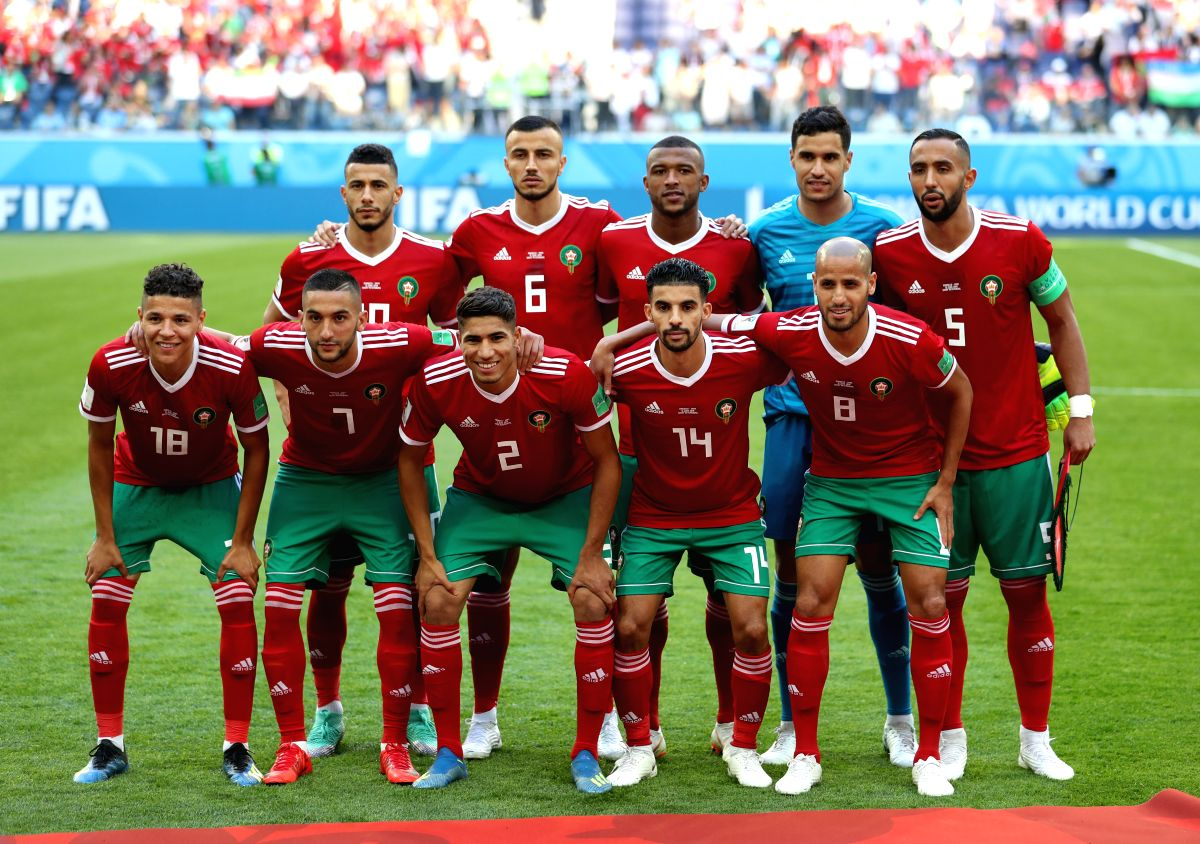 Morocco's Nordin Amrabat is the first player to suffer a concussion in the 2018 World Cup.