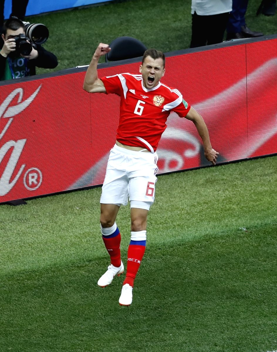 Russia's Denis Cheryshev is the first ever substitute who has scored in the opening match of the World Cup.