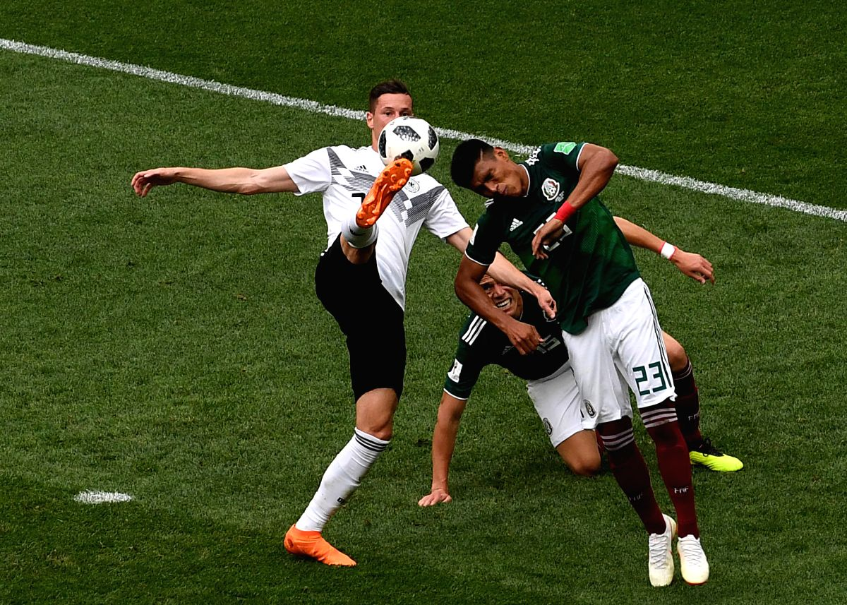For the second time in history, Germany lost their opening match to Mexico.