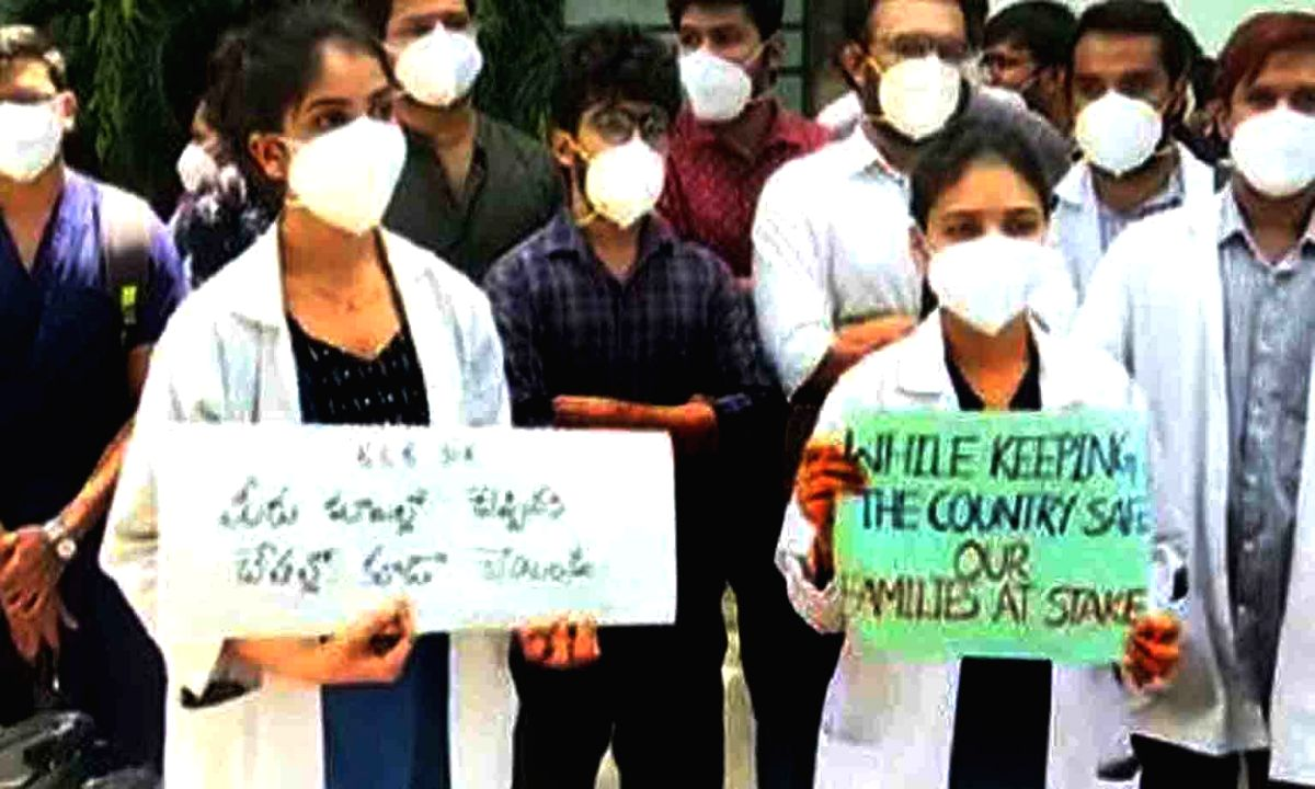 MP govt issues hostel eviction notices to junior doctors.