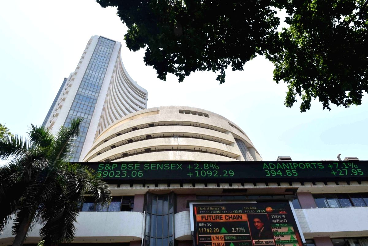 Mumbai: A view of the BSE building in Mumbai, on May 20, 2019. Indian equity indices traded on a firm note on Monday after most exit polls showed a BJP-led NDA getting a comfortable majority in the now concluded general elections. The Sensex advanced