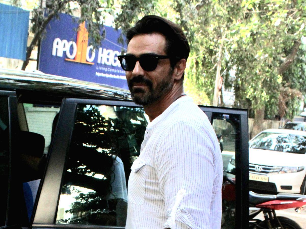 Mumbai: Actor Arjun Rampal seen in Mumbai's Bandra, on May 2, 2019.