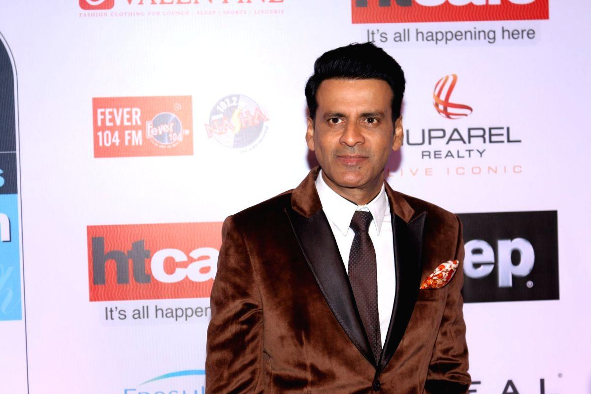 Mumbai:  Actor Manoj Bajpai during the HT Most Stylish Awards in Mumbai,  on March 24, 2017.