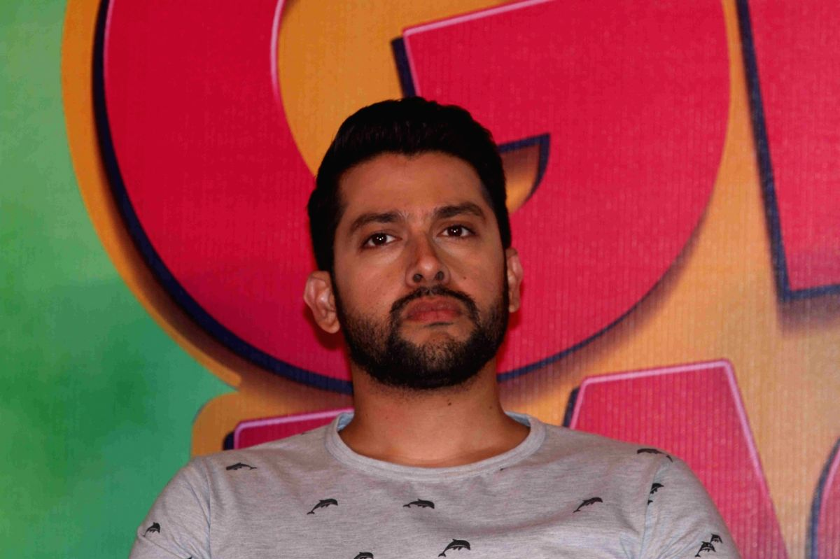 Mumbai: ActorAftab Shivdasani during the press conference on the issue of piracy and online leak of the film Great Grand Masti, in Mumbai, on July 16, 2016.