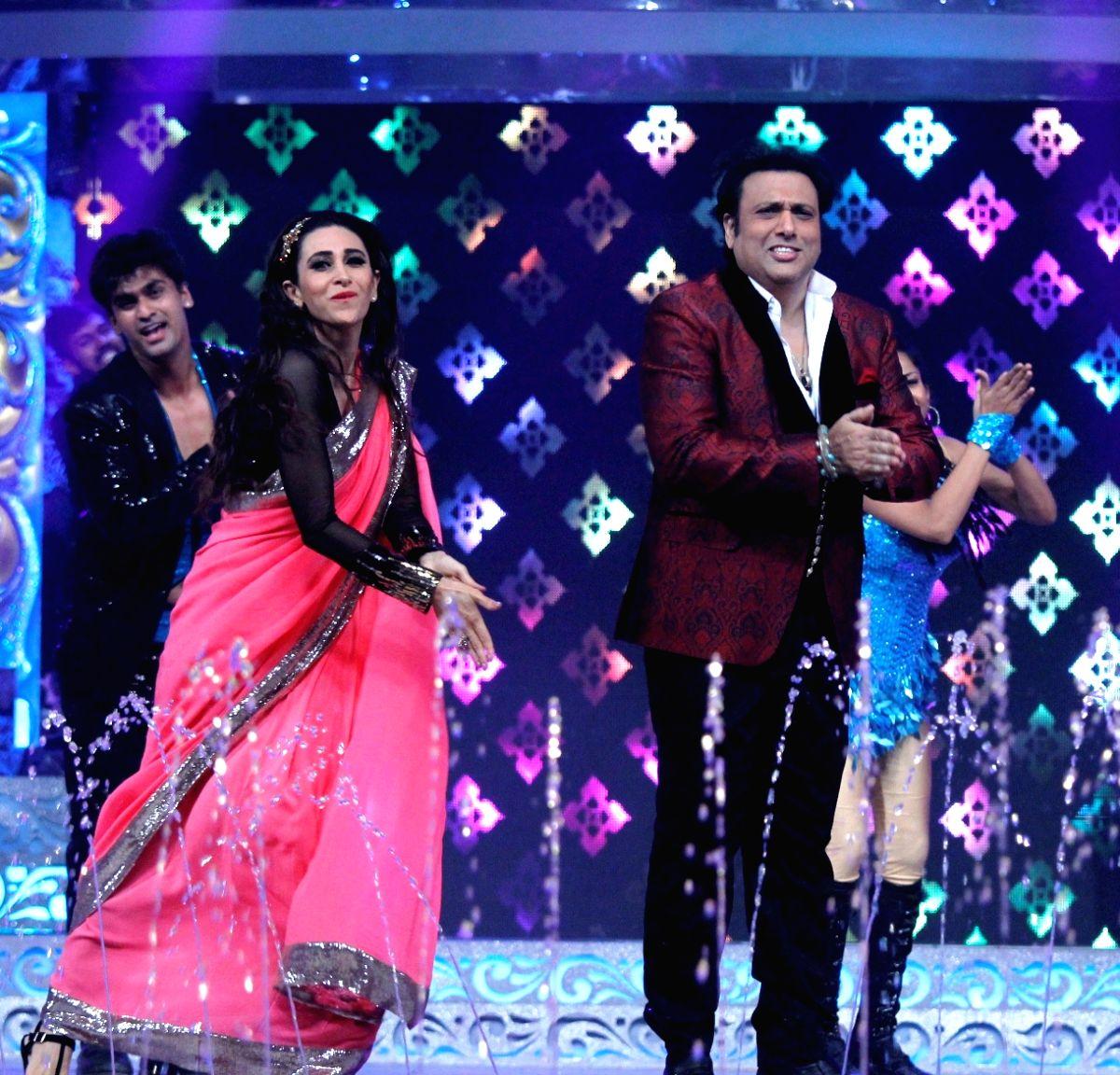 Actors Govinda and Karishma Kapoor