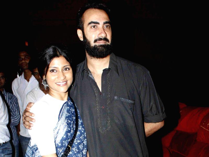 Actors Konkona Sen Sharma and Ranvir Shorey