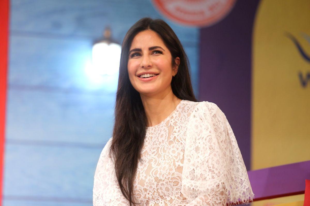 Mumbai: Actress Katrina Kaif at 'We The Women' programme in Mumbai on Dec 1, 2019.