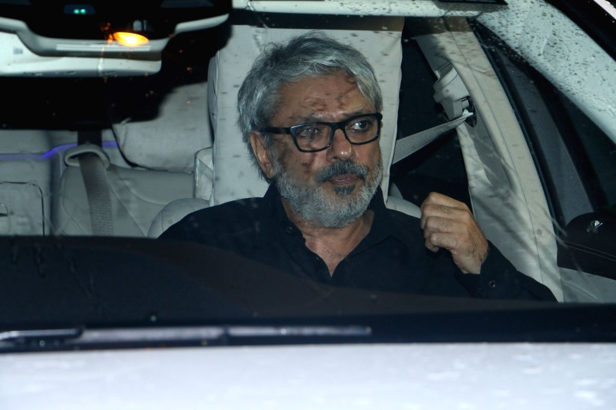 Mumbai: Director Sanjay Leela Bhansali arrives at Priyanka Chopra and Nick Jonas' engagement party in Mumbai on Aug 18, 2018.