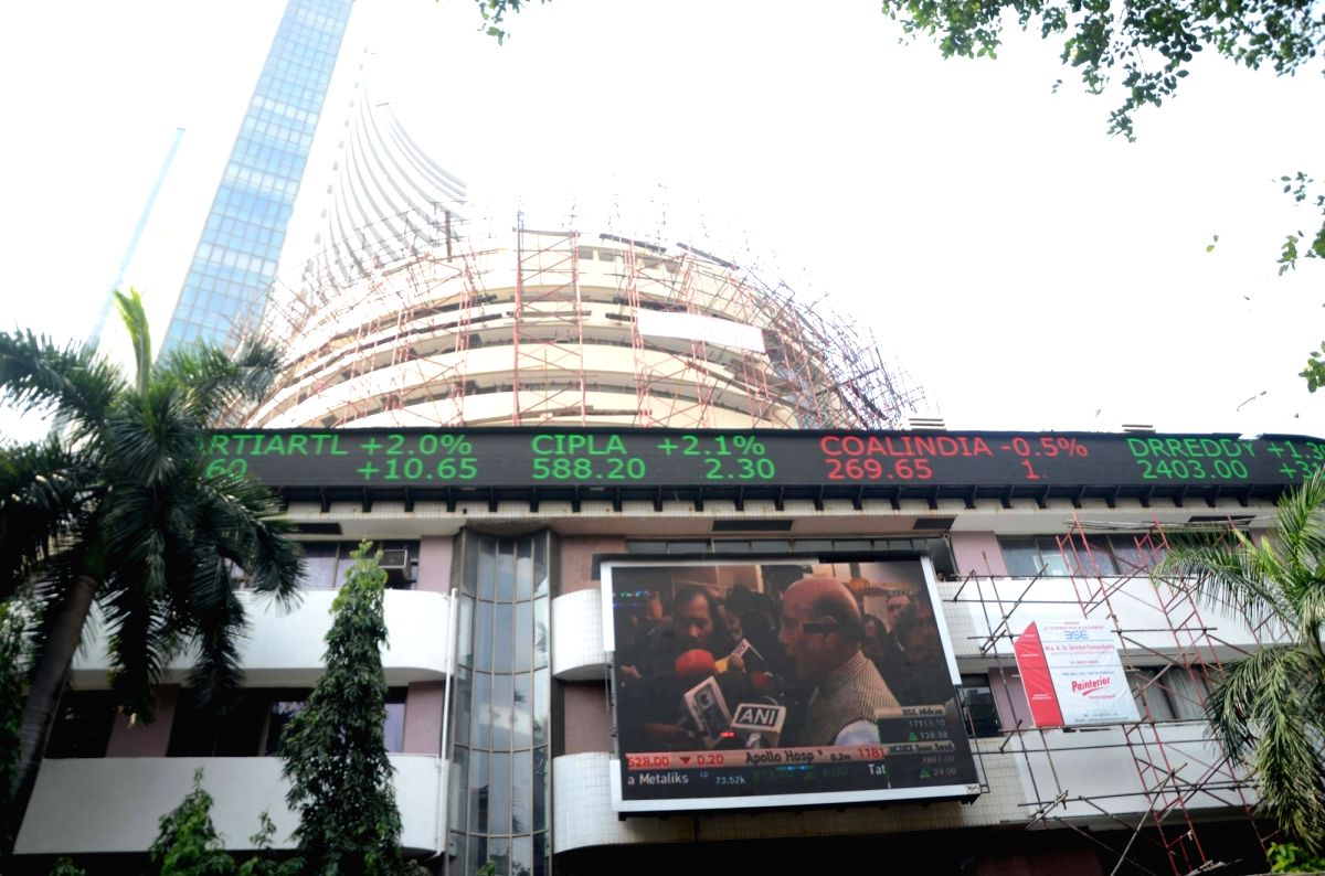 Mumbai: Key Indian equity indices on Monday danced to the tunes of the assembly polls results of Gujarat and Himachal Pradesh to finally close with gains after swinging from the extreme negative to the positive.