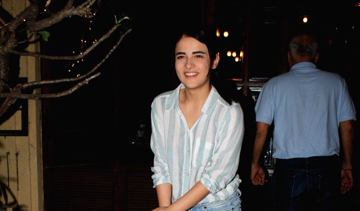Mumbai, May 26 (IANS) As domestic flight operations resumed after two months of lockdown, actress Radhika Madan on Tuesday flew from Mumbai to Delhi to be with her family.(File Photo: IANS)