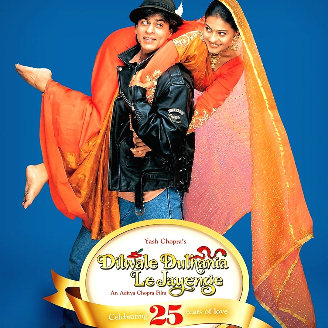 Mumbai, Oct 21 (IANS) The Shah Rukh Khan and Kajol-starrer Dilwale Dulhania Le Jayenge (DDLJ) has clocked 25 years, and to celebrate the feat, the film distributors have re-released the film in several countries.
