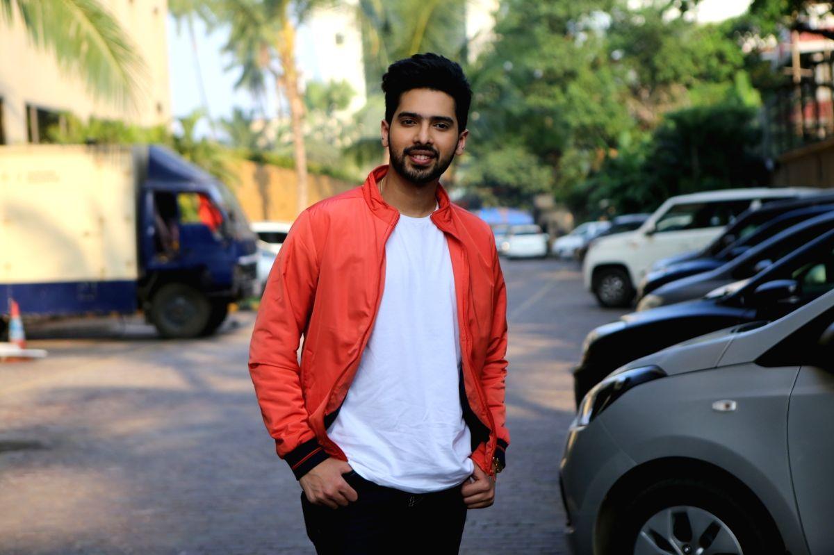 """Mumbai: Singer Armaan Malik during the promotions of the upcoming film """"Yeh Saali Ashiqui"""" in Mumbai on Nov 18, 2019."""