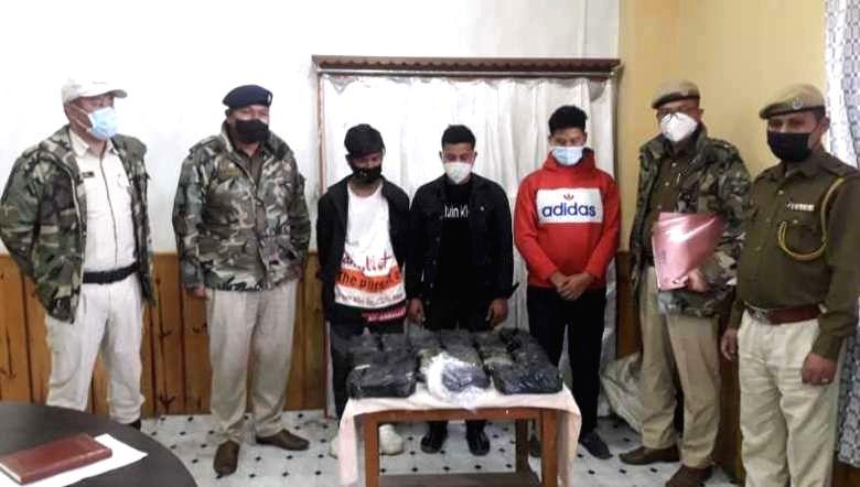 Myanmar bound drugs worth Rs 14 crore seized in Manipur, 3 held.