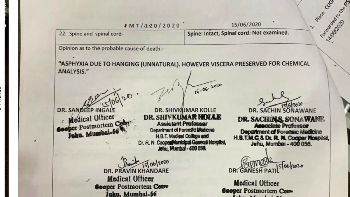 Mystery deepens: Sushant's viscera not preserved properly, hints at 'negligence'.