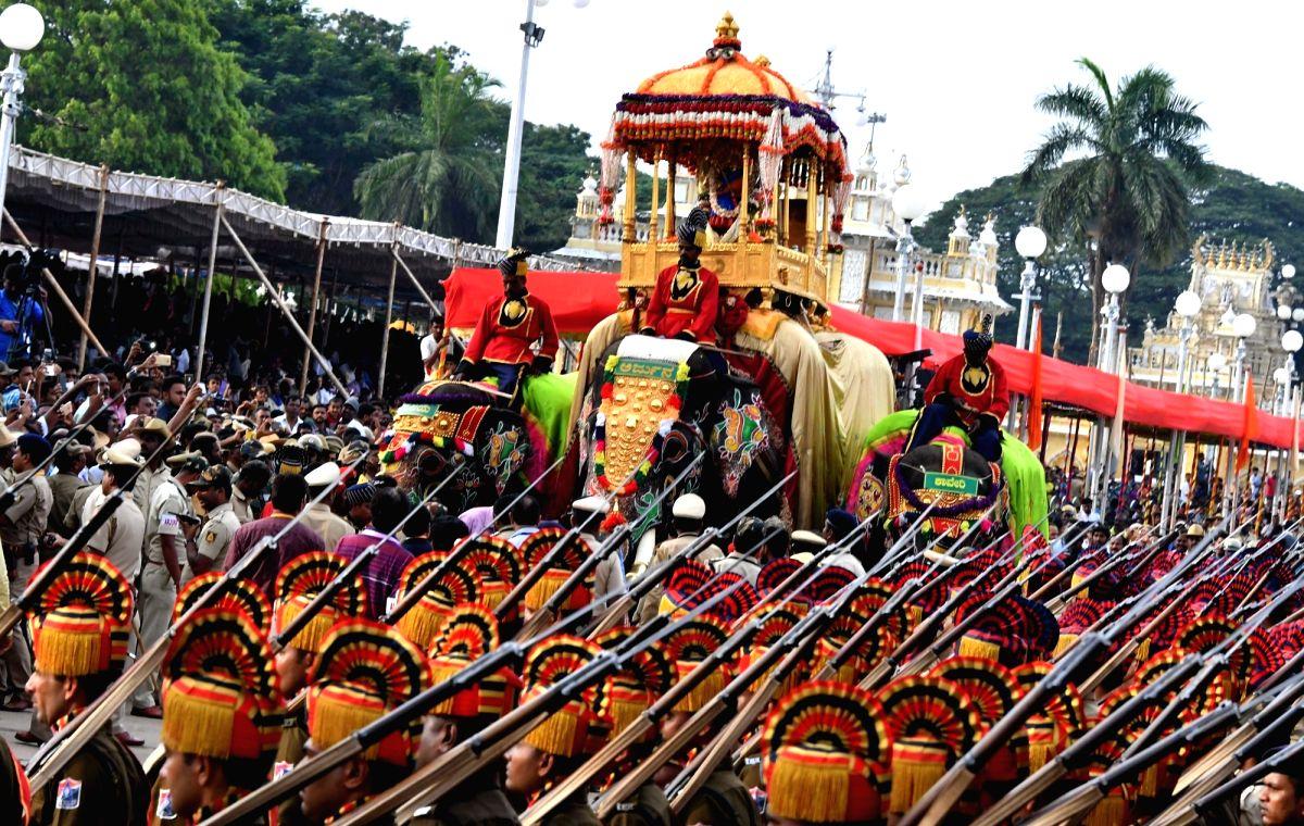 Mysuru: umbo Abhimanyu to carry deity at Mysuru Dasara fest.