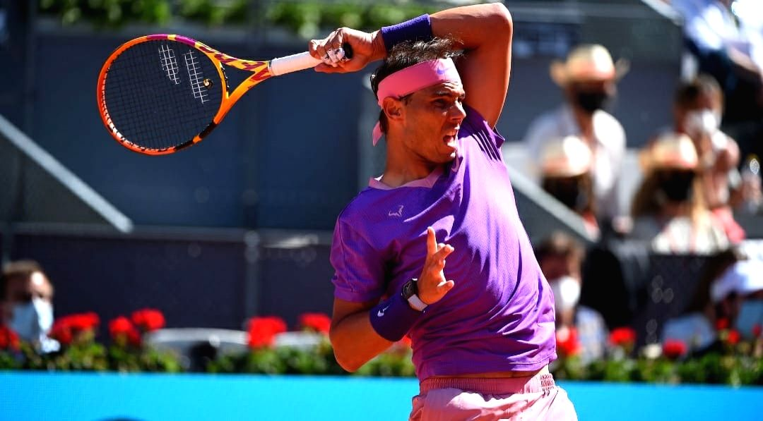 Nadal enters quarters at Madrid Open