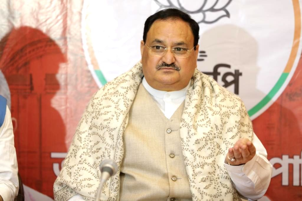 Nadda on 2-day Assam visit from Monday, to address rally in Silchar (Photo credit: Twitter/@JPNadda)